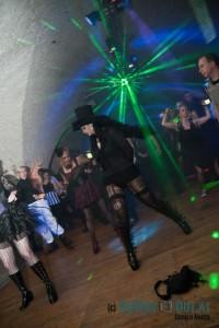 Dancing Goth Lady